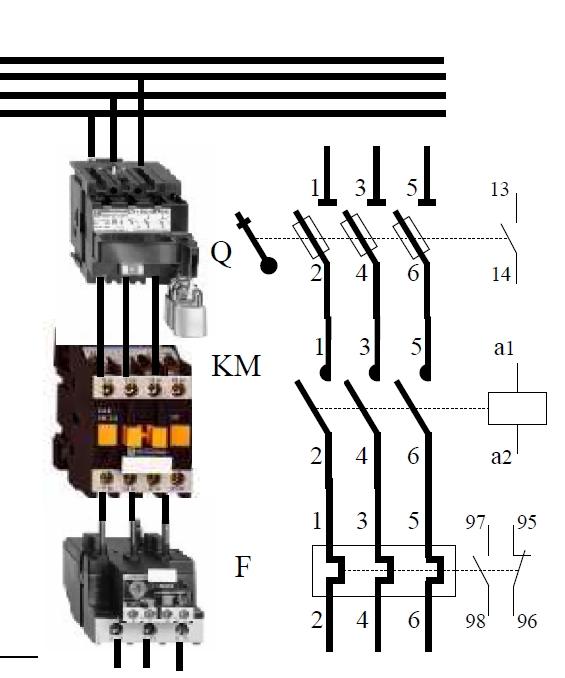 disjoncteur moteur et disjonceur classique 110