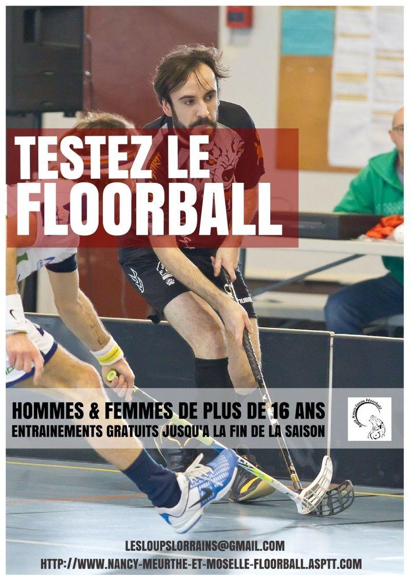 Testez le floorball gratuitement ! 2110