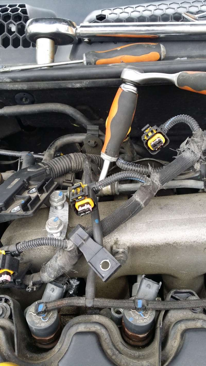 Remplacement bougies préchauffage moteur 1900cc 20150512