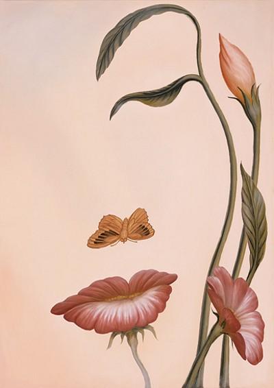 Illusion d'optique en peinture : époustouflant ! Fleurs10