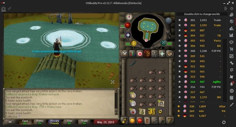 Lol, bad luck.. Two Kraken Tentacles in one task. 2015_021