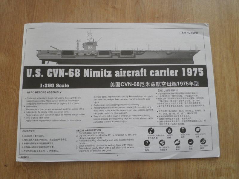 Porte avions nimitz au 1/350 P5120231