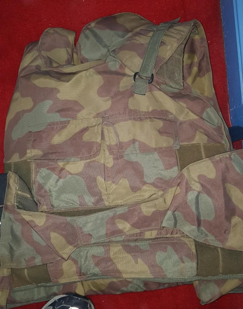 Italian Flak Vests / Body Armor 20150512