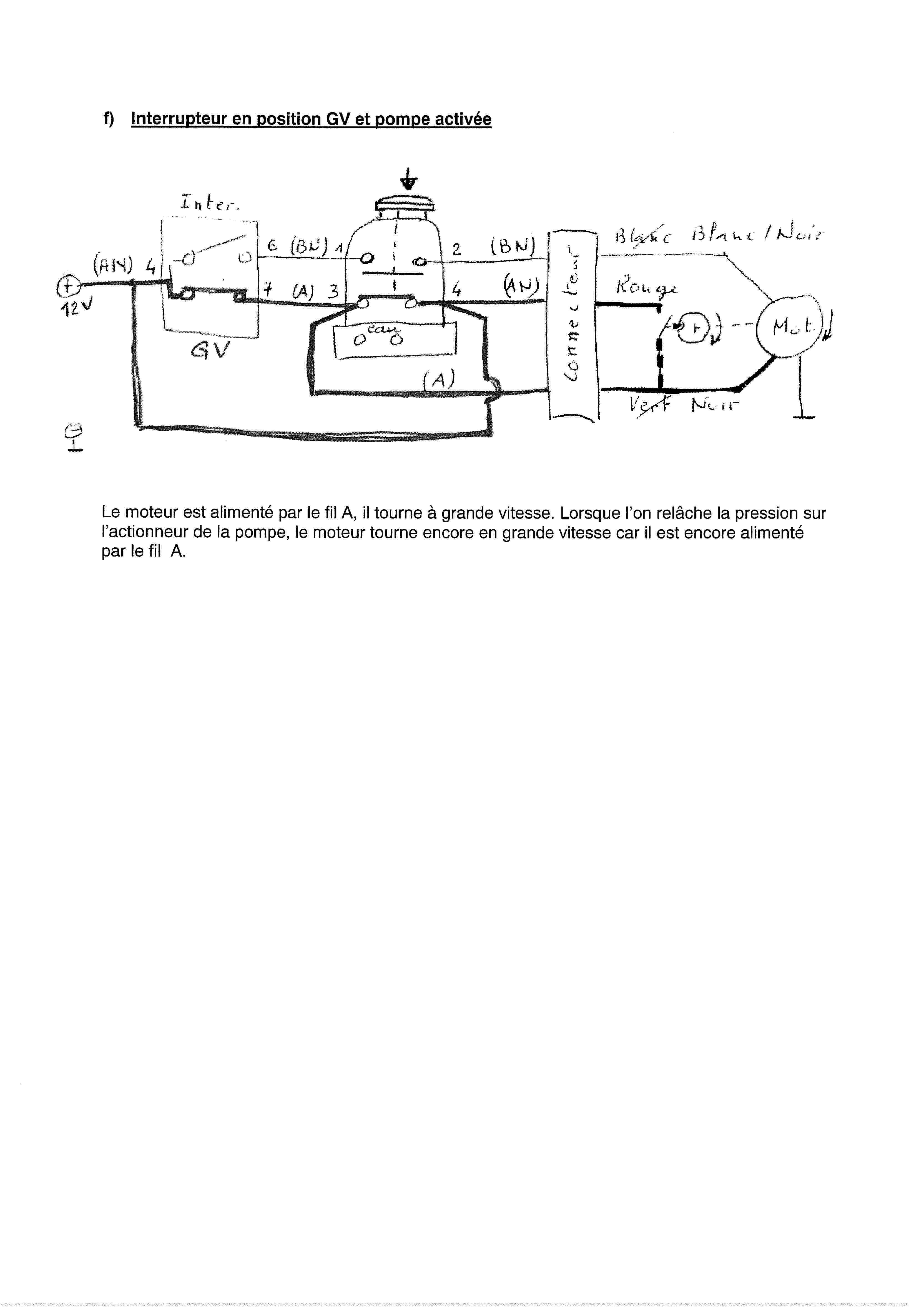 Essuie-glace - schéma électrique 00000014