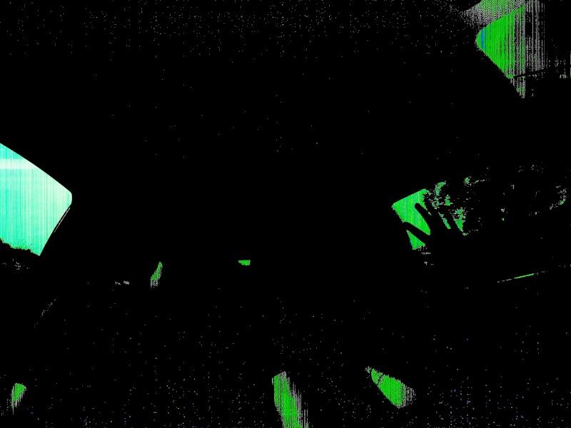 Gopro écran noir / blanc / vert … Vidéo foutu et mais son présent … Gros gros bug G0011210