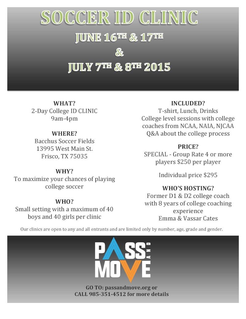 Pass & Move College ID Clinics - Frisco, TX Flyer_10