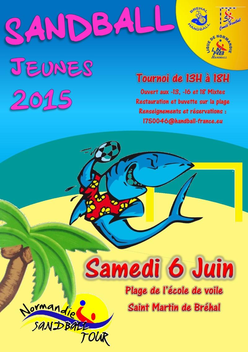 Sandball Jeunes Bréhal Handball 11560611