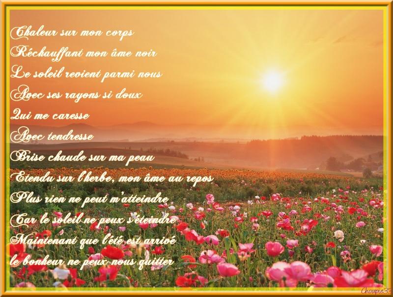 poésie sur l'été 286dca10