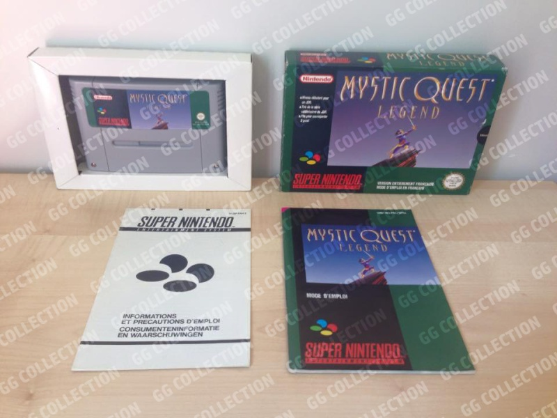 Collection gg_retro64, vers le Full Set Super Nintendo PAL 310