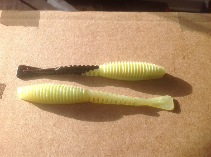 home made soft plastics X10