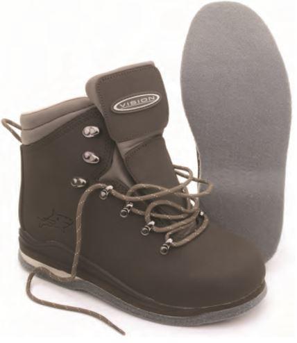 Chaussures de wading VISION MAKKO FEUTRE Url11