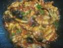 Émincé de poulet sauce tomates et olives noires.photos. Img_7036
