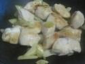 Haricots vert aux cubes de poulet.photos. Img_7044