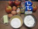 Tarte sans pâte aux pommes et cannelle.photos. Img_7065