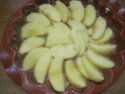 Tarte sans pâte aux pommes et cannelle.photos. Img_7077