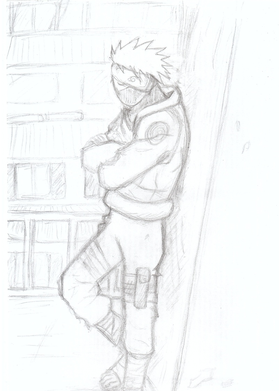 ART by Ninja Copieur Kakashi (aka Tilleule, c'est plus simple) Kakash14