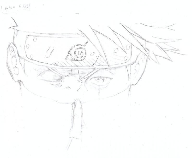 ART by Ninja Copieur Kakashi (aka Tilleule, c'est plus simple) Kakash15