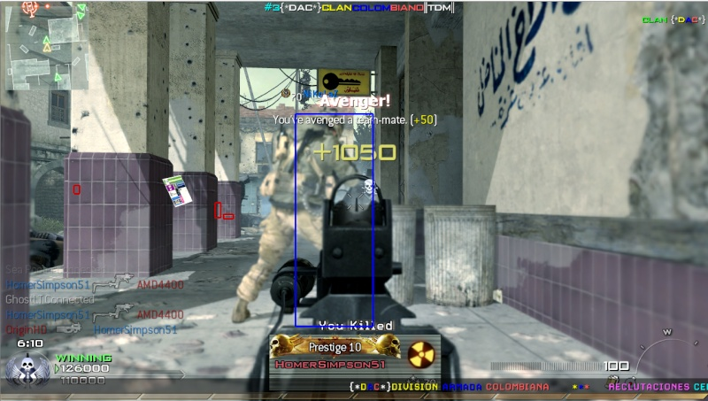 Call of Duty MW2 WallHack + AimBot (Non Detected) PC Hack_m10