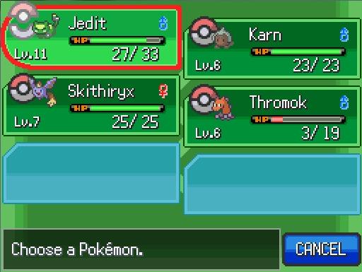 Let's Play Pokemon Uranium! First time through! [Text format] Pku2510