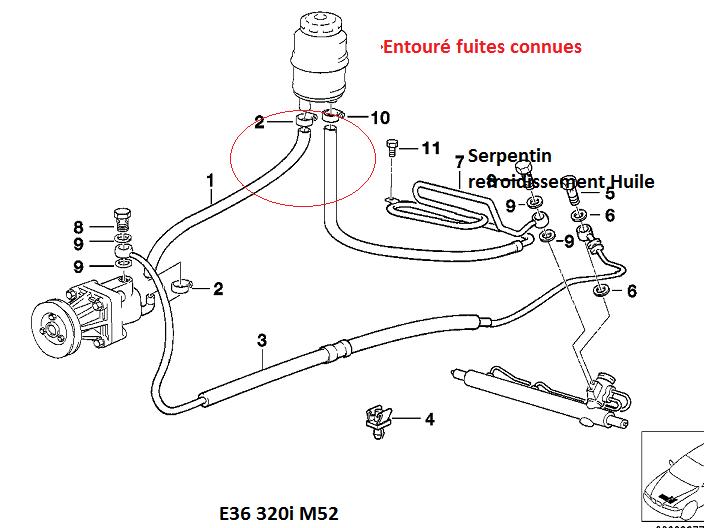 [ BMW E36 320i M52 an 1997 ] fuite d'huile sur corps de filtre (résolu) 32_e3611