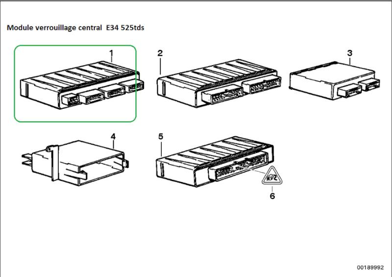 [ BMW e34 525TDS an 1991 ] Problème vitres electriques 61_mod10