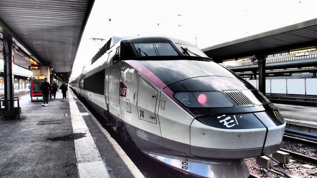 TGV en Gare de Lyon 16866710