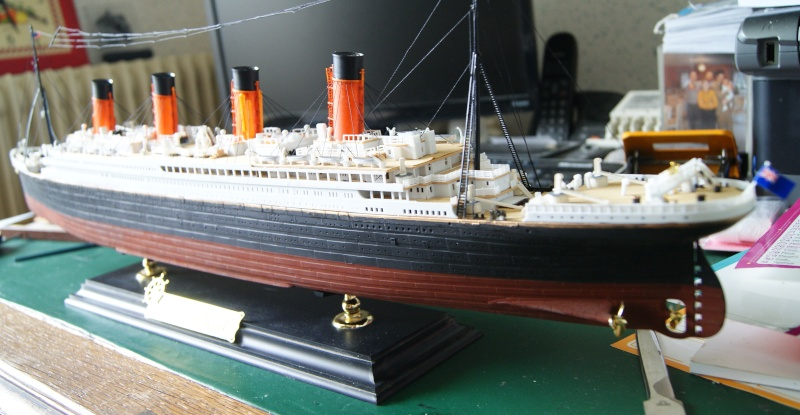 R.M.S Titanic 1/400 Academy Dsc03911
