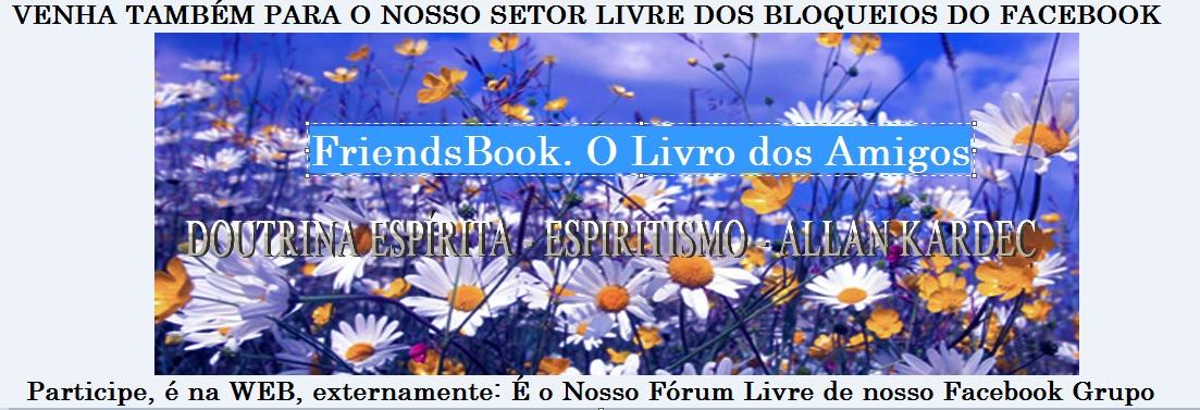 Sejam Bem-vindos.  Facebook Grupo: Doutrina Espírita - Espiritismo - Allan Kardec .   Capa_f10
