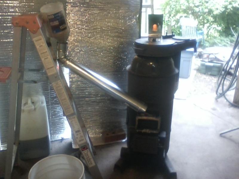 pellet - Rocket Stove Pellet Heater P0527110