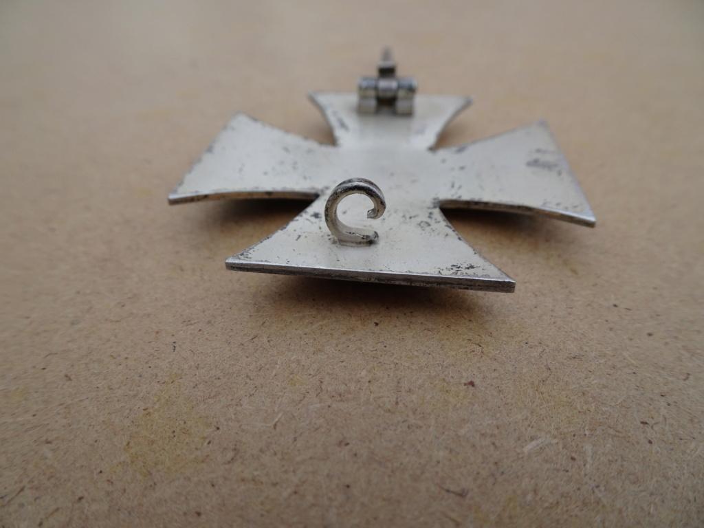 Croix de fer 1ère classe deuxième guerre mondiale Dsc00127