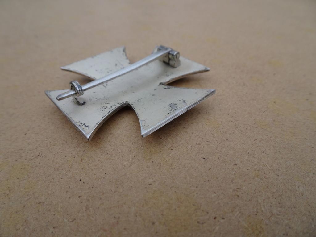 Croix de fer 1ère classe deuxième guerre mondiale Dsc00128