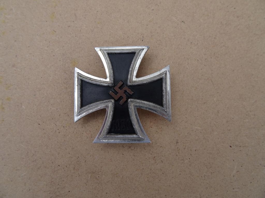 Croix de fer 1ère classe deuxième guerre mondiale Dsc00129