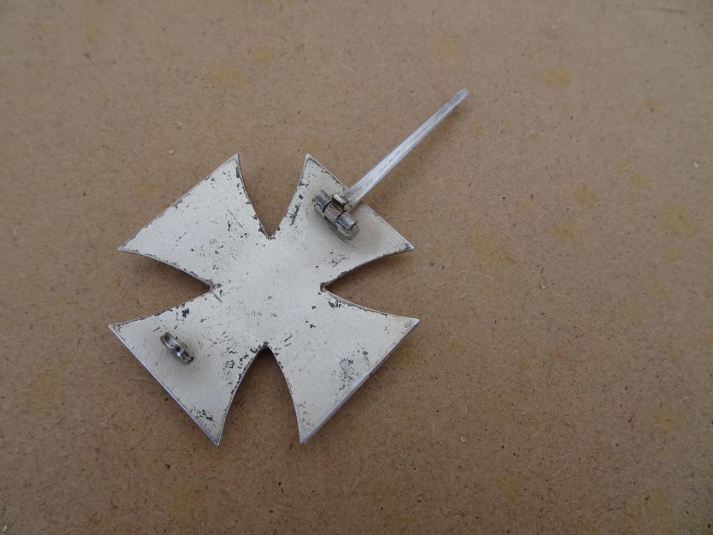Croix de fer 1ère classe deuxième guerre mondiale Dsc00131