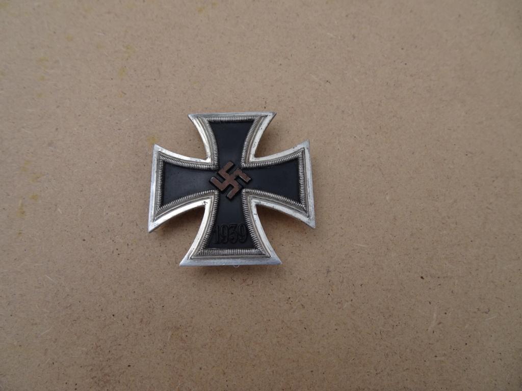 Croix de fer 1ère classe deuxième guerre mondiale Dsc00132