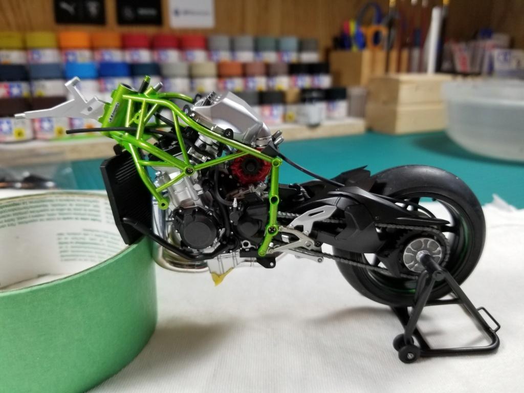 Tamiya Kawasaki Ninja H2R 20200917