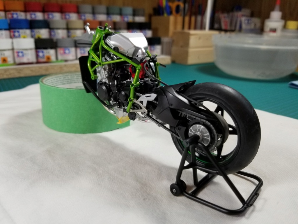Tamiya Kawasaki Ninja H2R 20200920