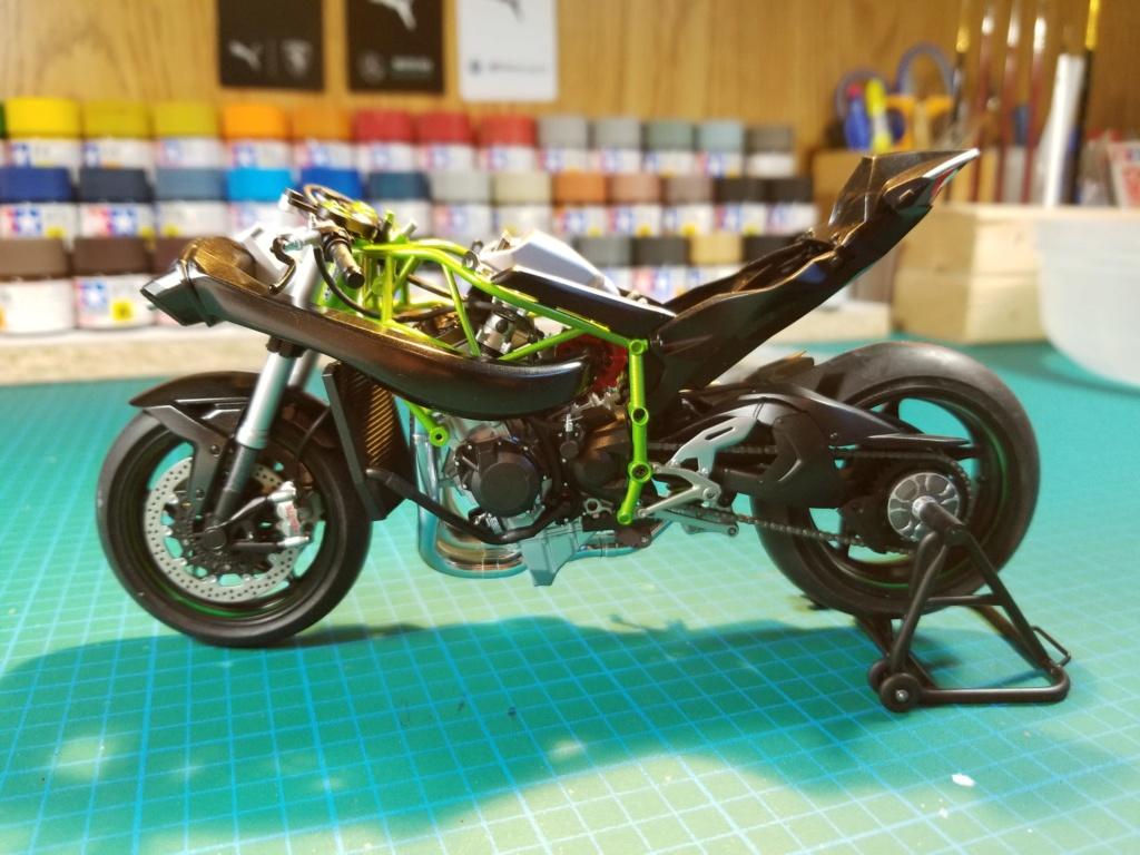 Tamiya Kawasaki Ninja H2R 20200929