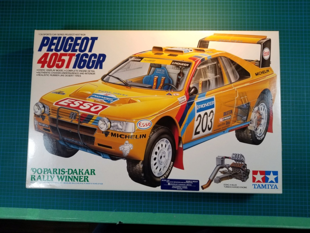 Tamiya Peugeot 405T16GR 1990 Paris-Dakar Rally Winner 20200938