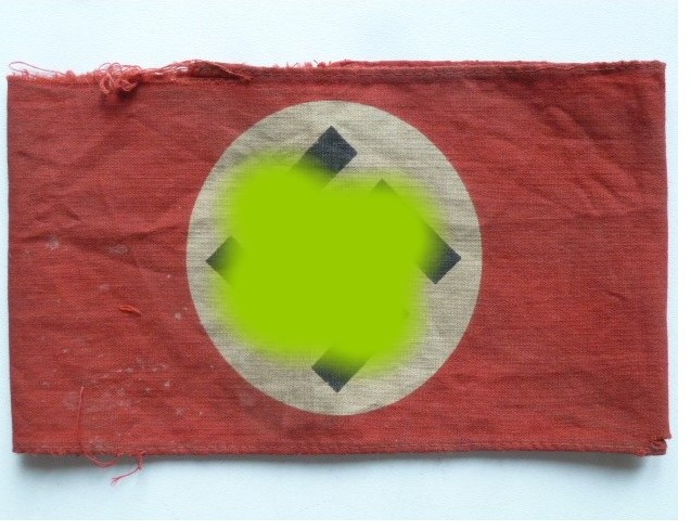 Identification brassard NSDAP  Sa11