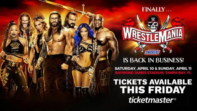 [Compétition] Voici le programme de la semaine de WrestleMania 37 Wrestl22