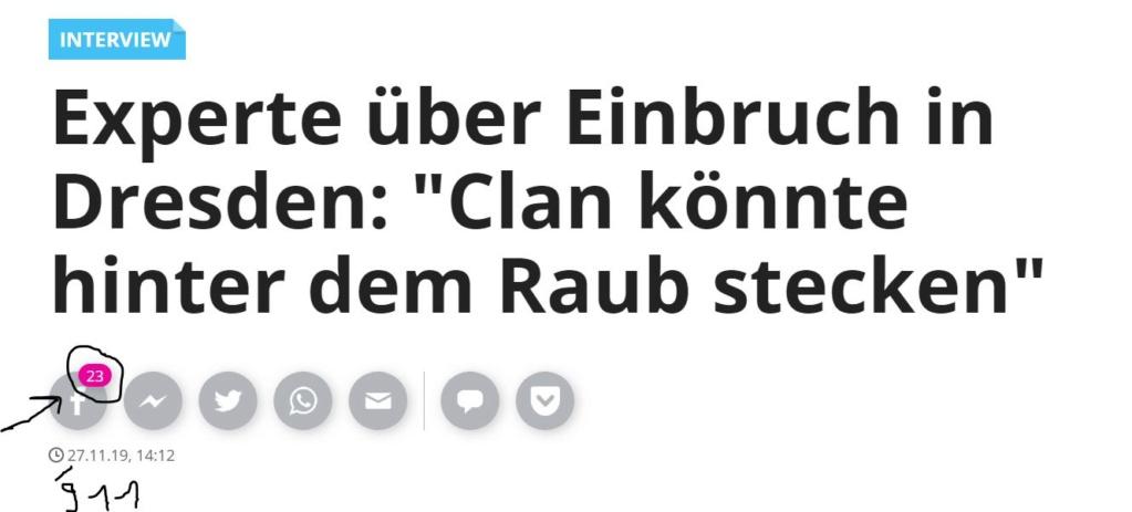 Grünes Gewölbe in Dresden - Einbruch Dd10