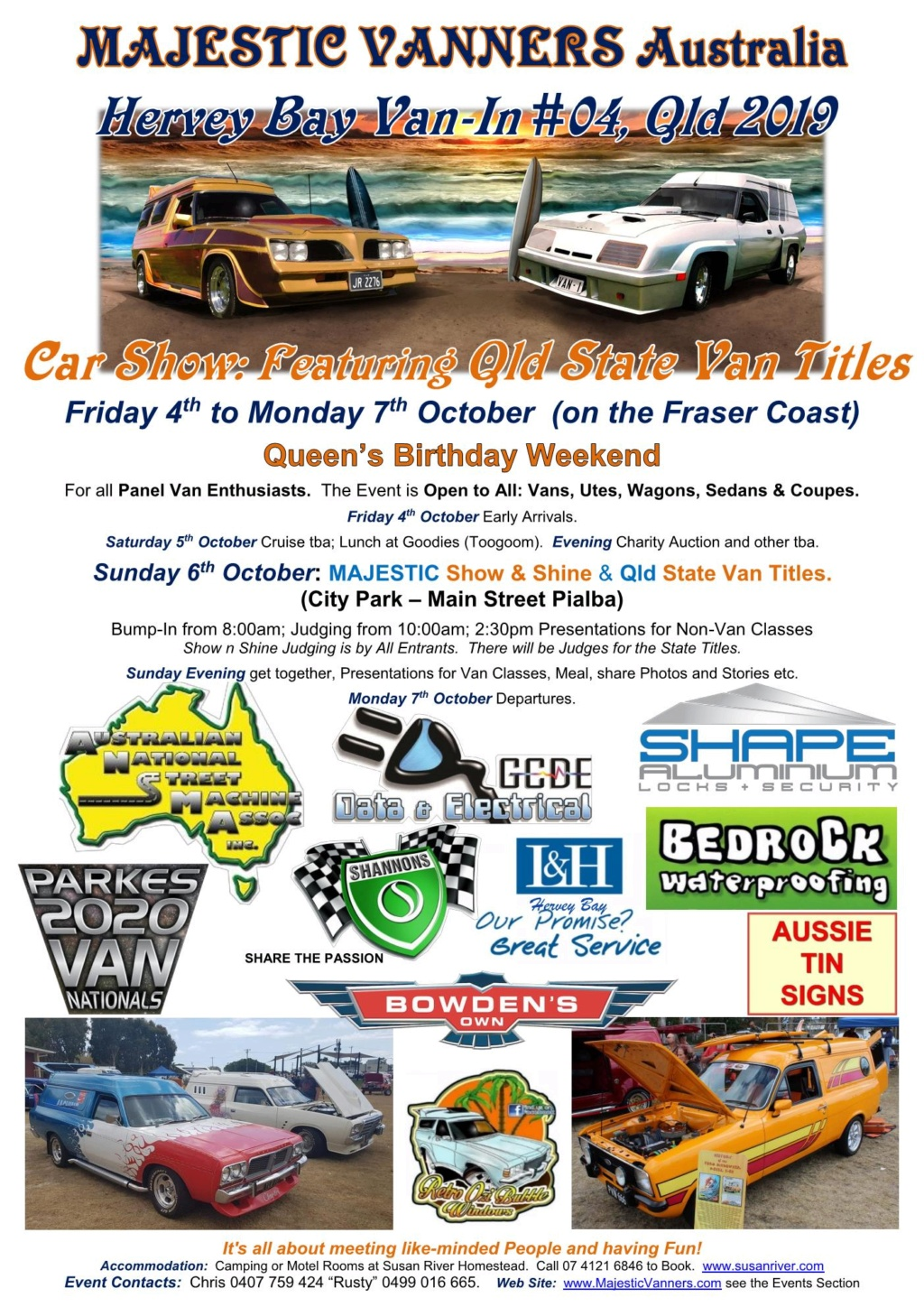 2019 Van-In Entry Forms Now Available! 2019_h11