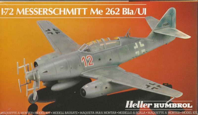 MESSERSCHMITT Me 262 Bla/UI 1/72ème Réf 80233 Me_26214