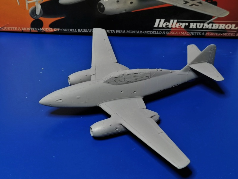 MESSERSCHMITT Me 262 Bla/UI 1/72ème Réf 80233 Me_26220