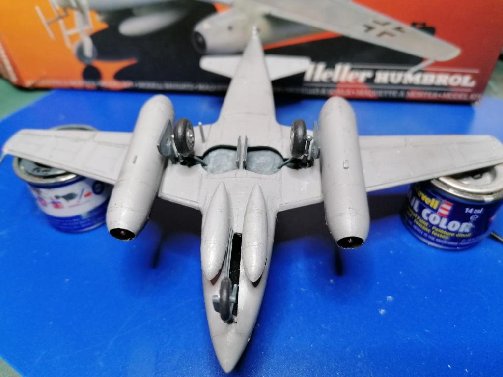 MESSERSCHMITT Me 262 Bla/UI 1/72ème Réf 80233 Me_26225
