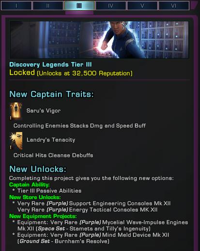 [PC] Réputation : Discovery Legends Dl310