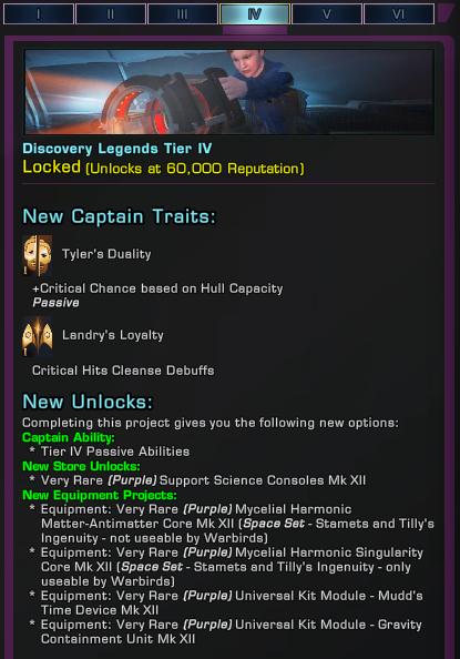 [PC] Réputation : Discovery Legends Dl410
