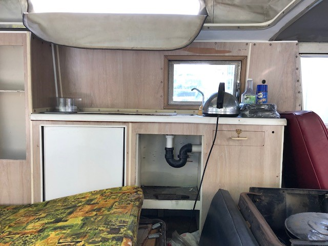 1967 A-100 camper removing and selling interior Camper11
