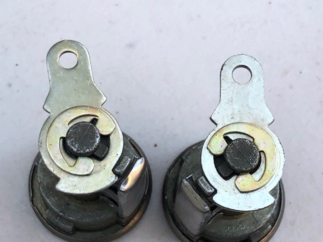 NOS Door lock sets, what to look for 1968 1969 1970 Key_cy10