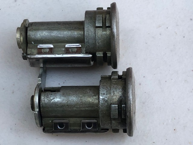 NOS Door lock sets, what to look for 1968 1969 1970 Key_cy12